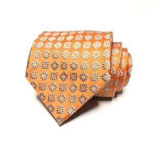Ermenegildo Zegna Jacquard Geometric Pattern Tie